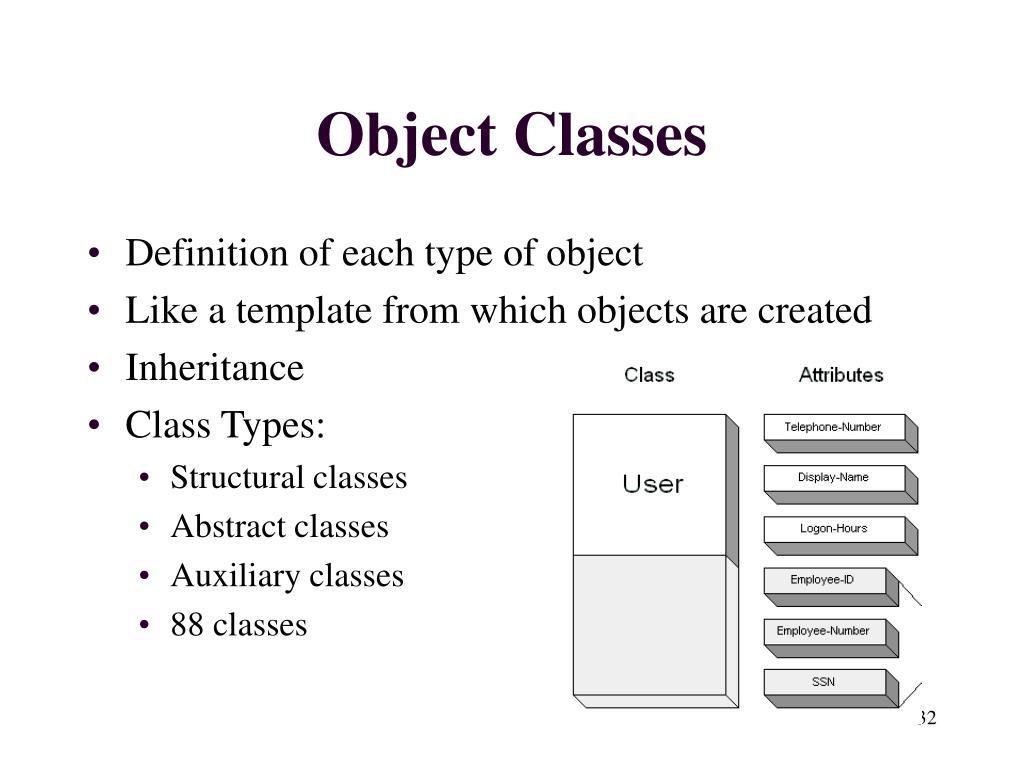 Object Classes