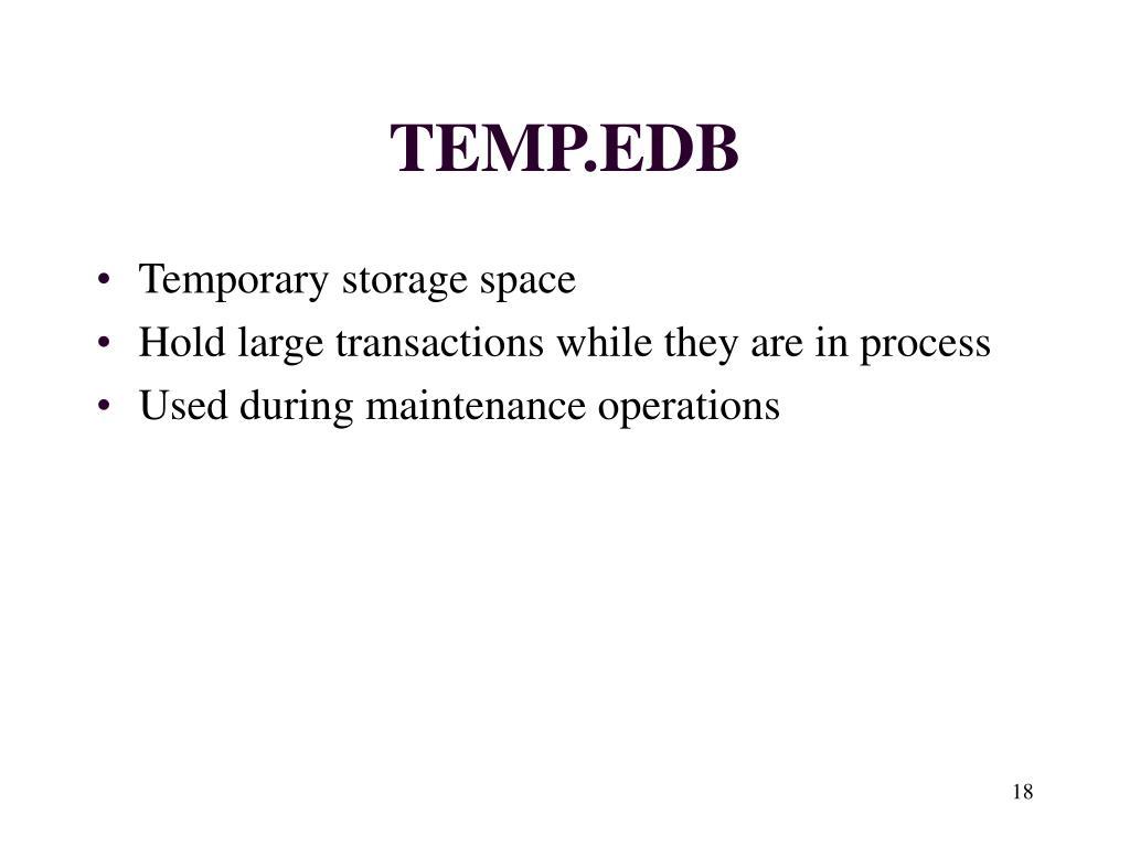 TEMP.EDB