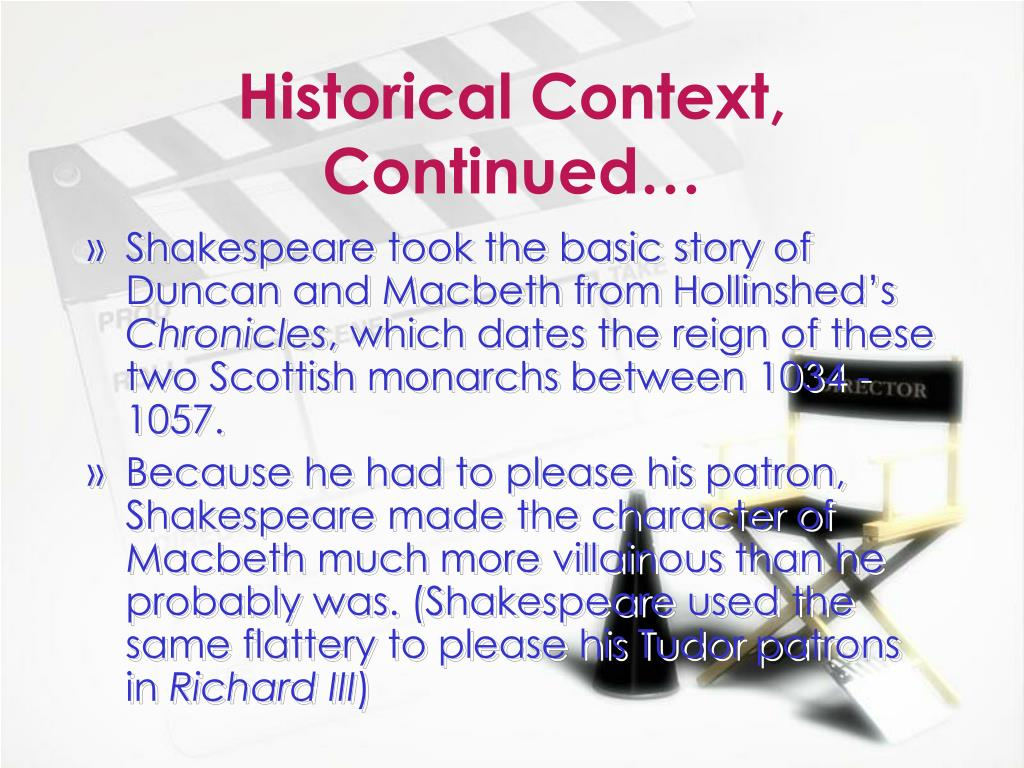 an overview of macabeth in the shakespearean play Macbeth: plot summary shakespeare online 20 aug 2000 shakespeare's patron going to a play in elizabethan london ben jonson and the decline of the drama.