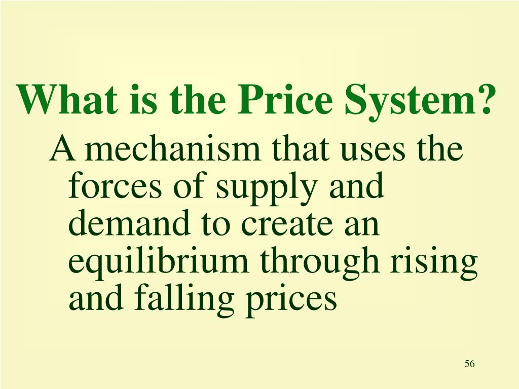 What is the Price System?