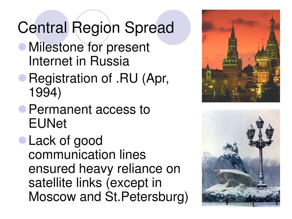Central Region Spread
