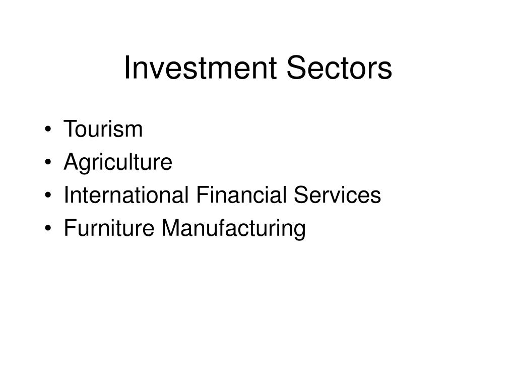 Investment Sectors