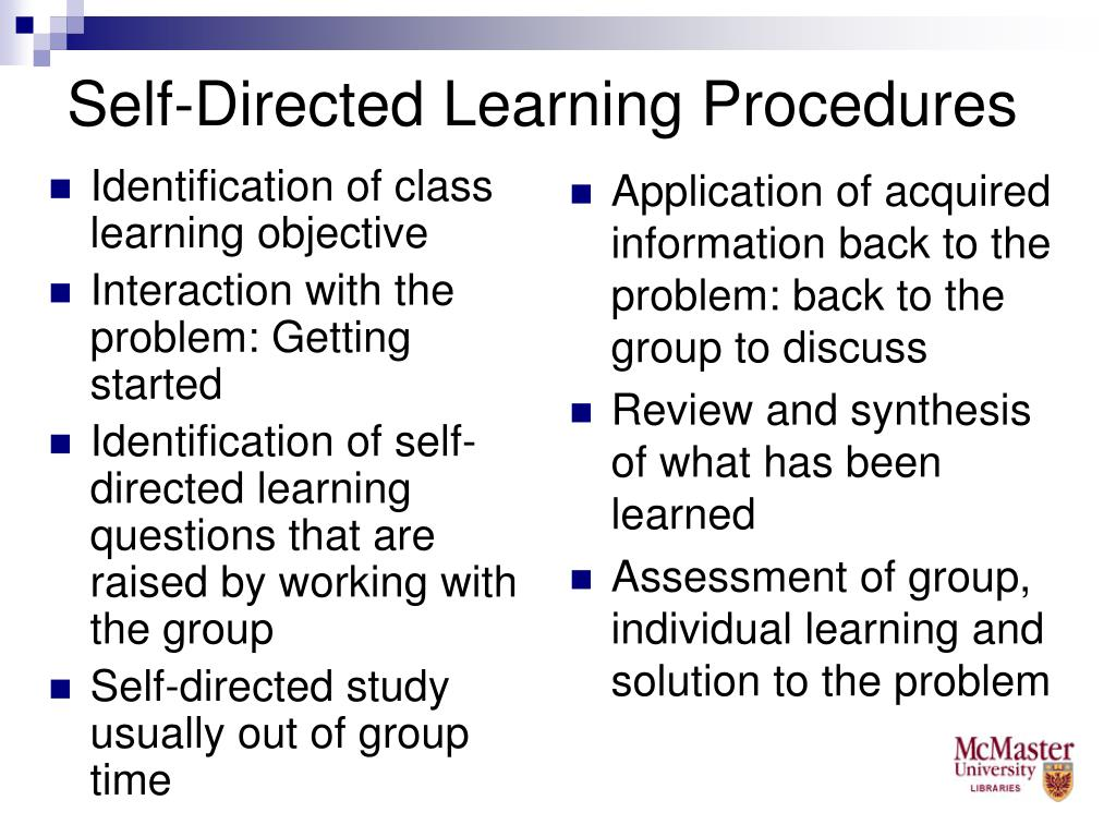 Identification of class learning objective