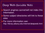 deep web invisible web7