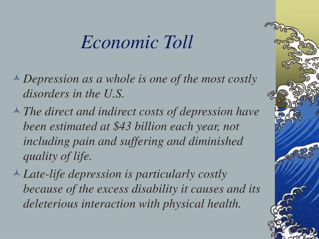 Economic Toll