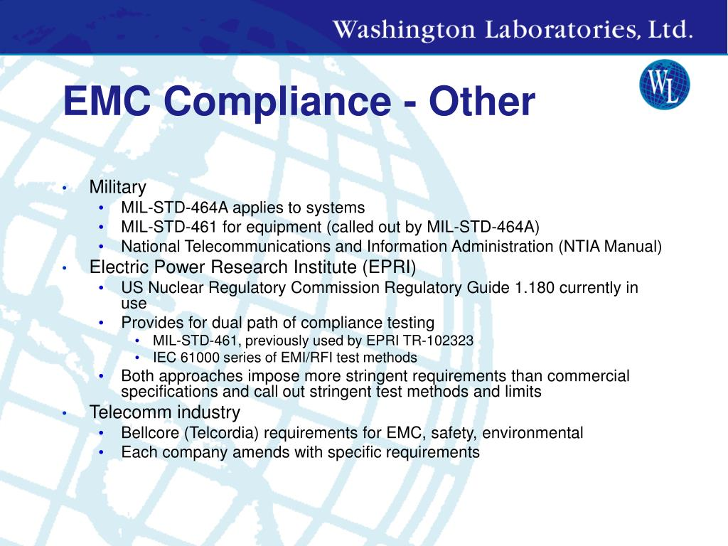 EMC Compliance - Other