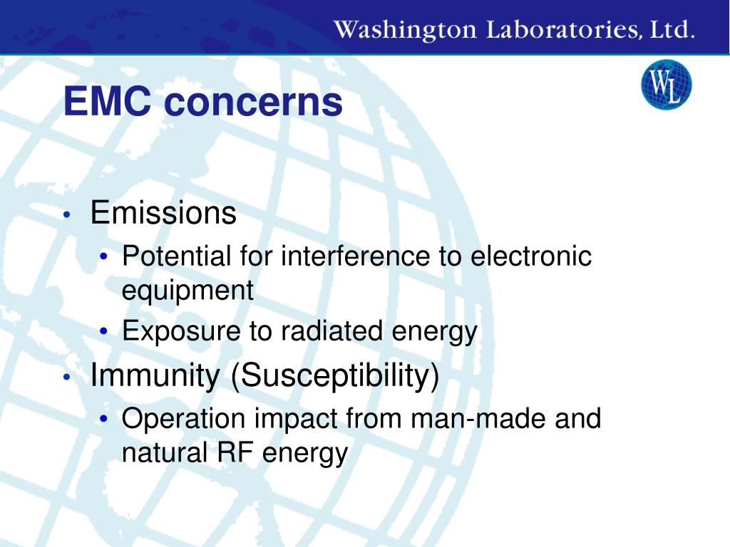 EMC concerns