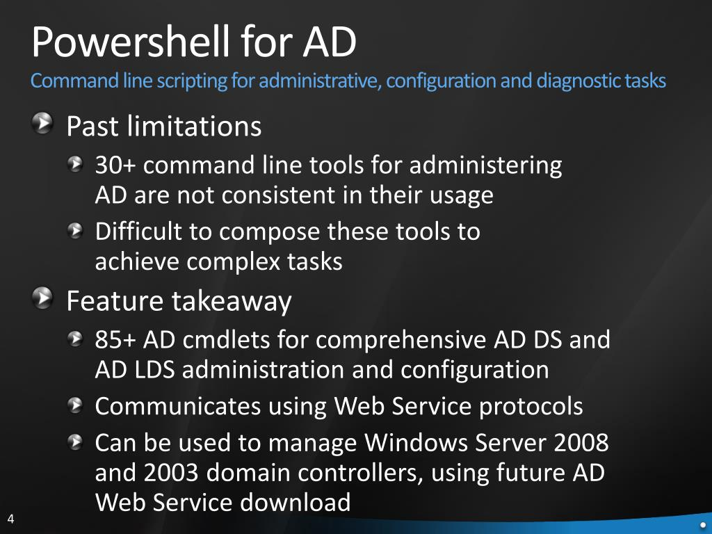 Powershell for AD