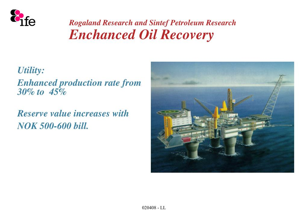 Rogaland Research and Sintef Petroleum Research