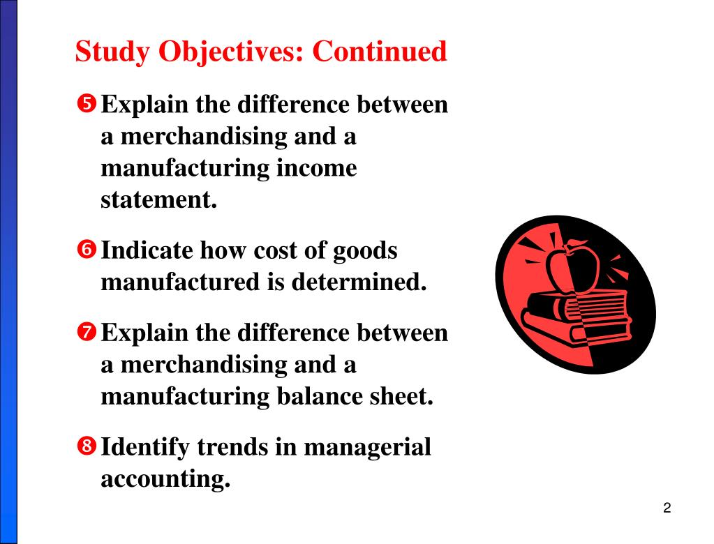 Study Objectives: Continued