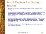 search engines are getting smarter