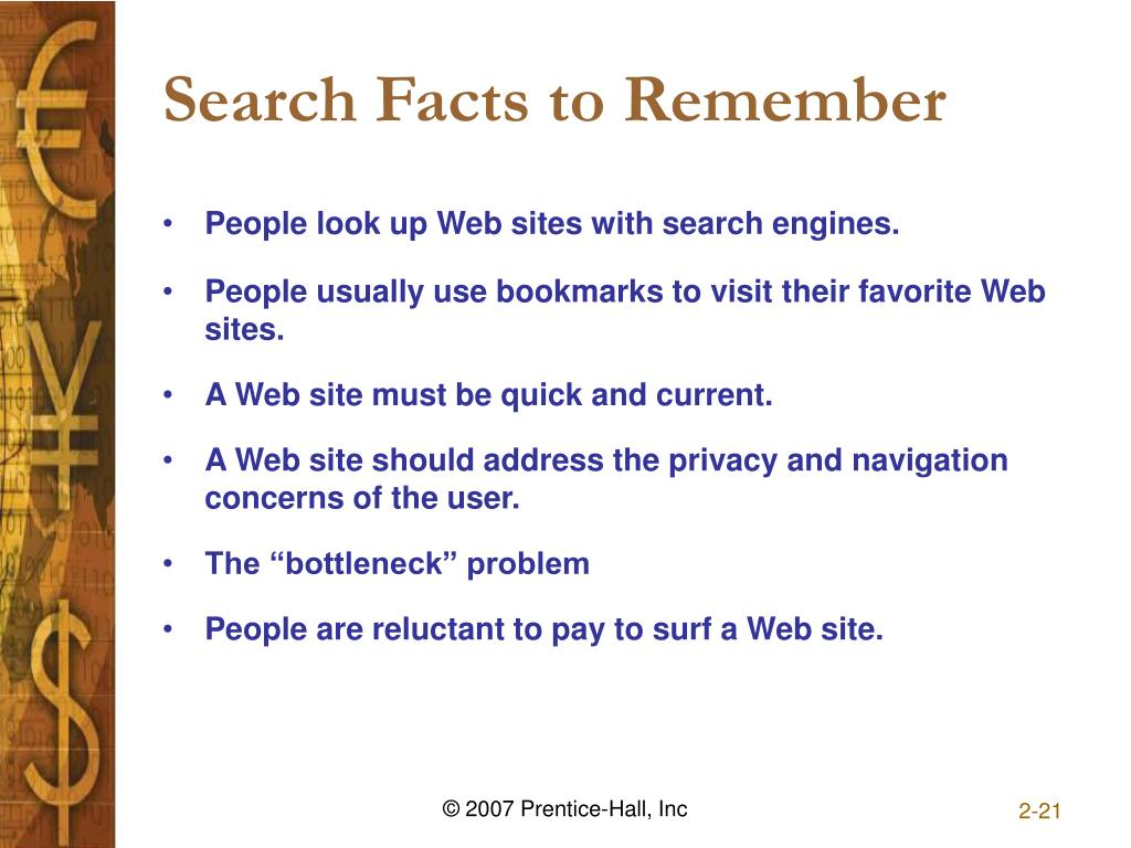 Search Facts to Remember