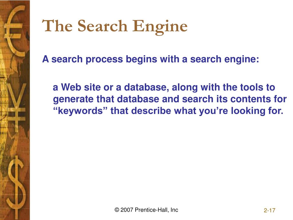 The Search Engine
