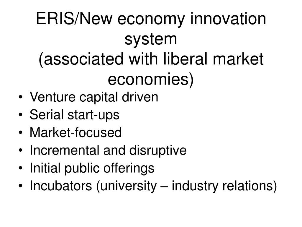 ERIS/New economy innovation system