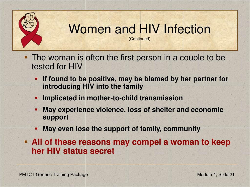Women and HIV Infection