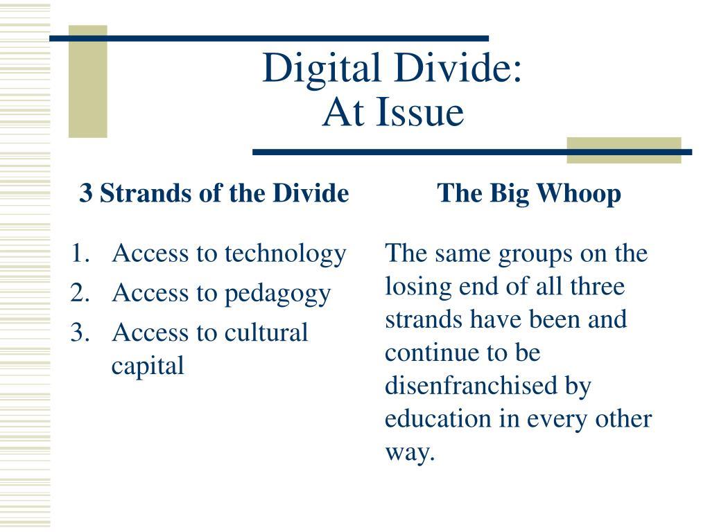 3 Strands of the Divide