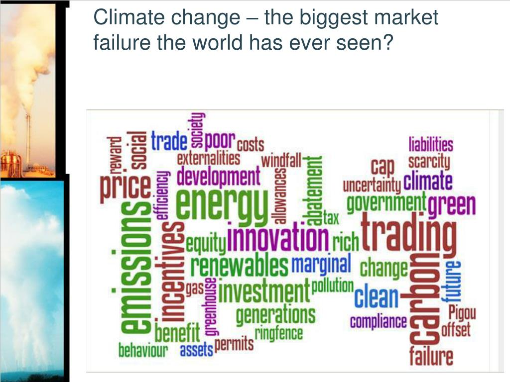 Climate change – the biggest market failure the world has ever seen?