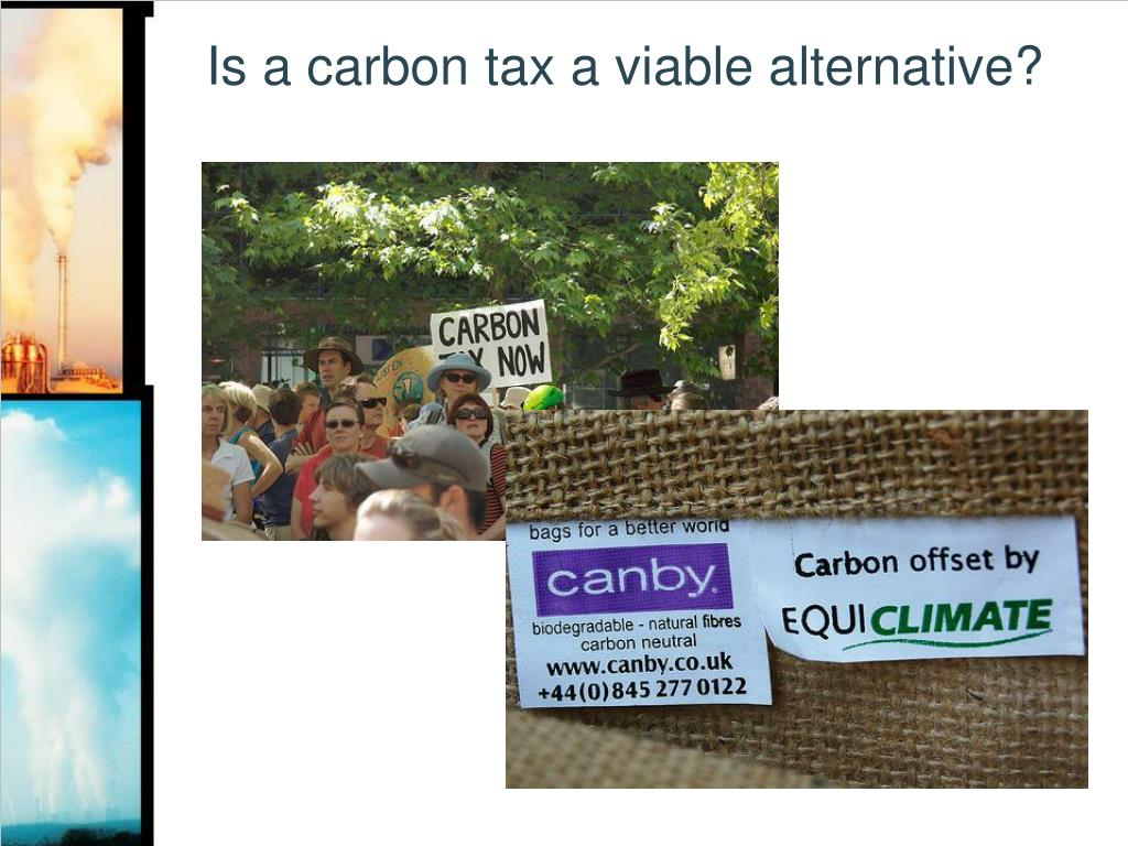 Is a carbon tax a viable alternative?