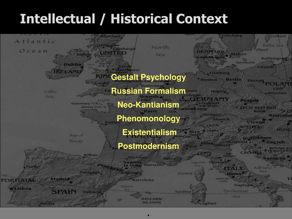 Intellectual / Historical Context