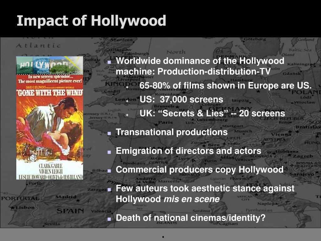 Impact of Hollywood