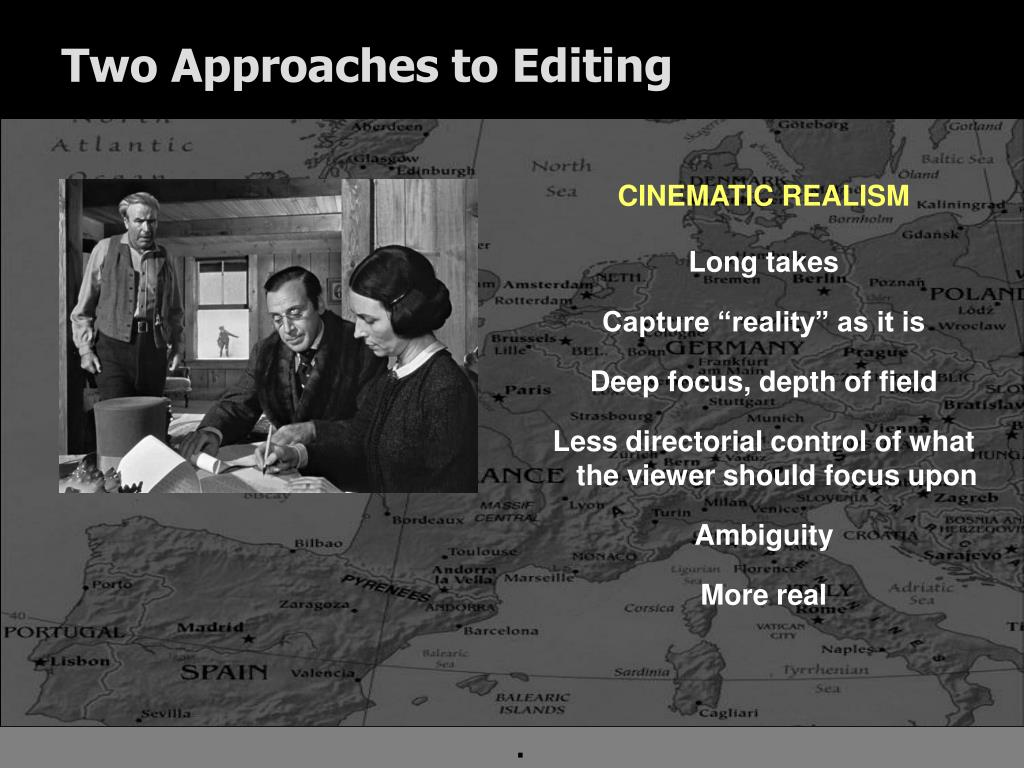 Two Approaches to Editing