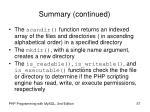 summary continued57
