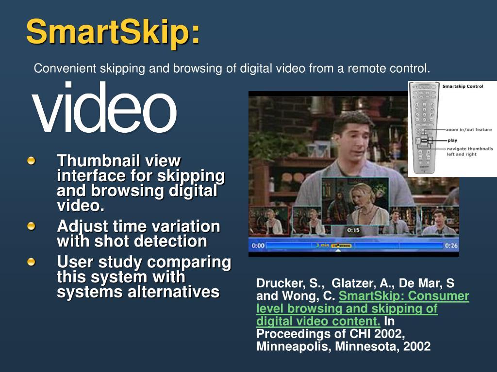 SmartSkip: