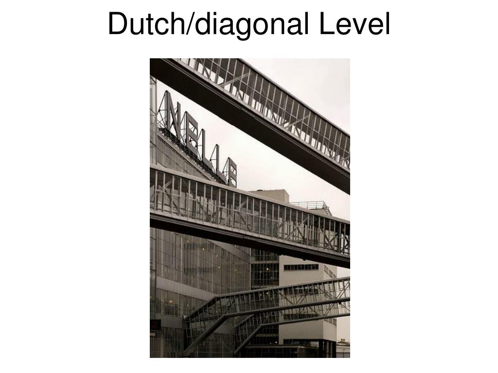 Dutch/diagonal Level