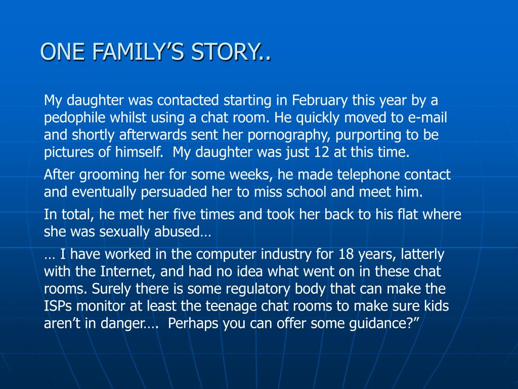 ONE FAMILY'S STORY..