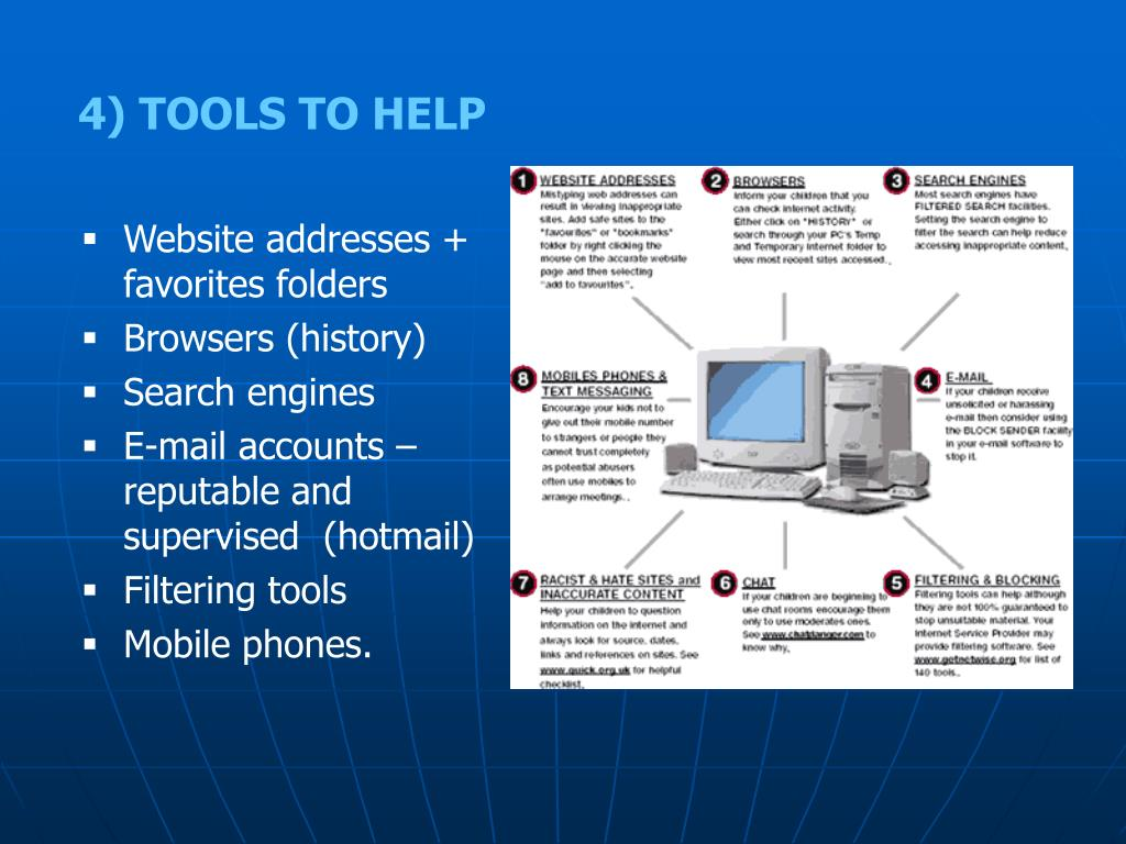 4) TOOLS TO HELP