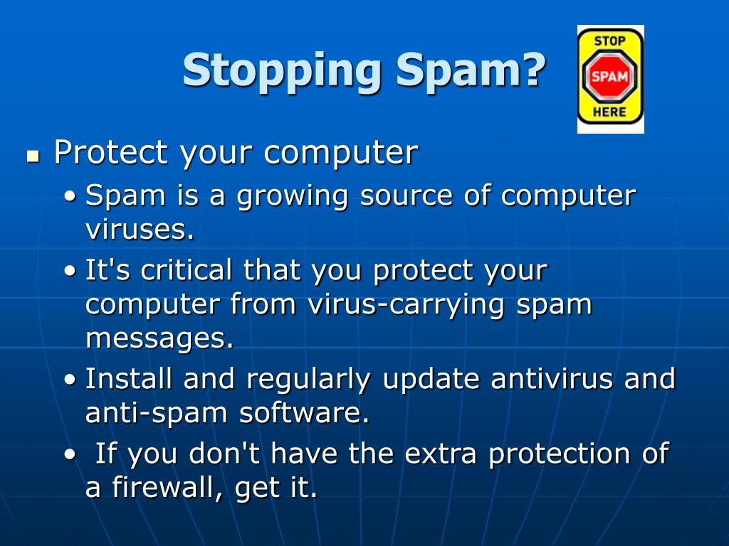 Stopping Spam?