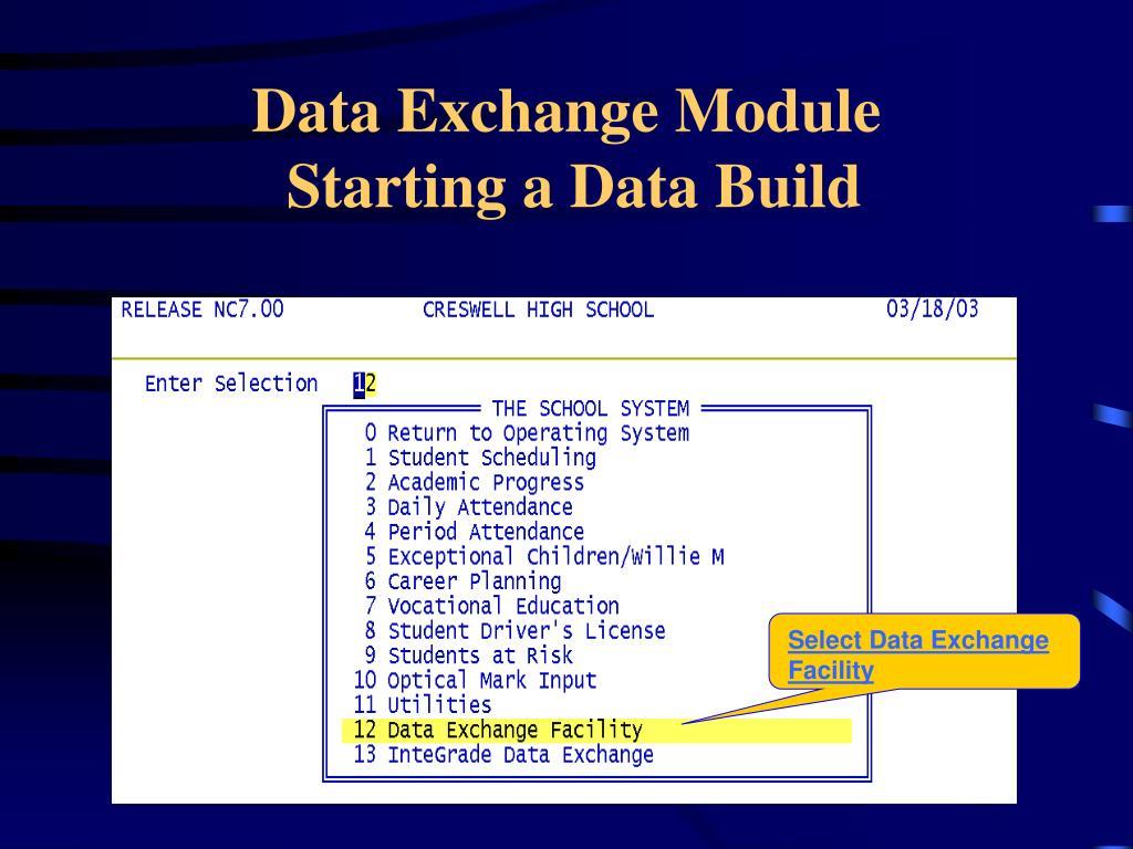 Data Exchange Module