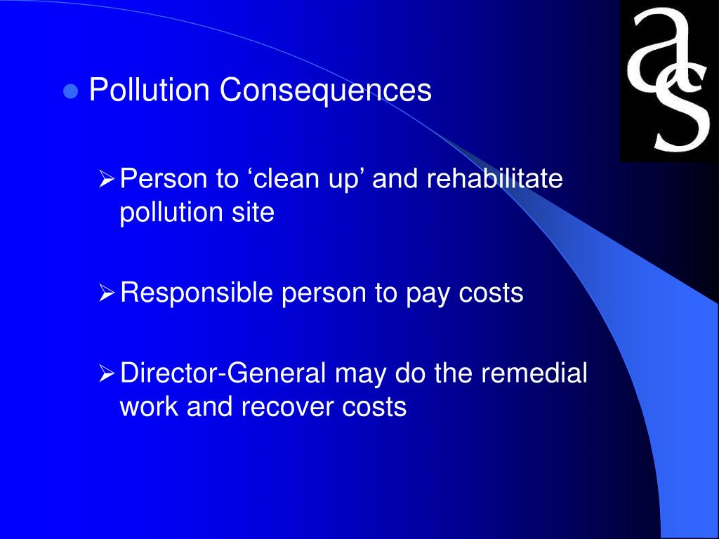 Pollution Consequences