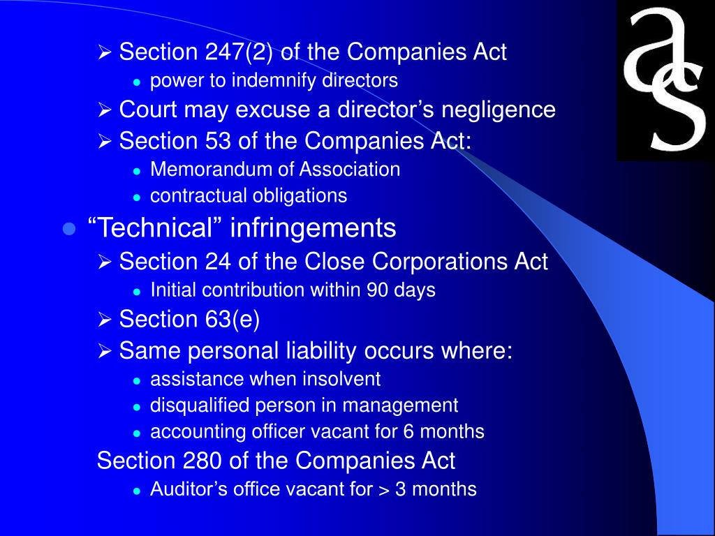 Section 247(2) of the Companies Act