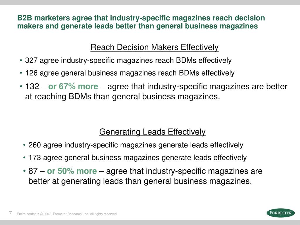 Reach Decision Makers Effectively