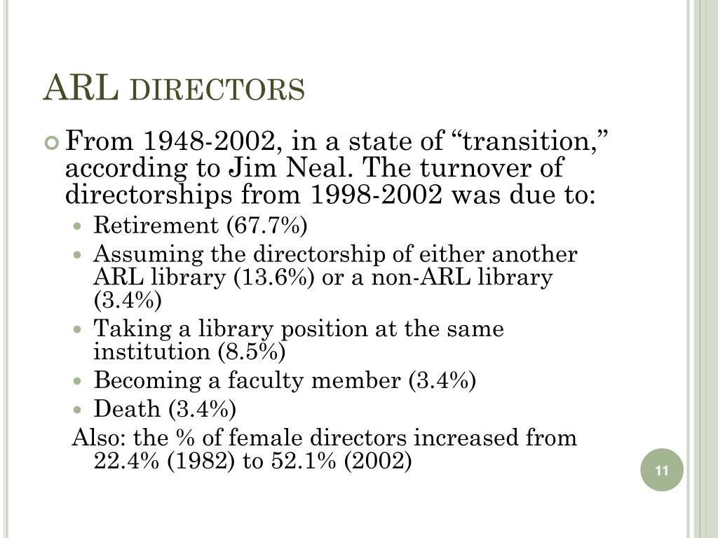 ARL directors