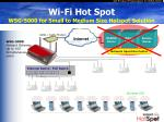 wi fi hot spot wsg 5000 for small to medium size hotspot solution