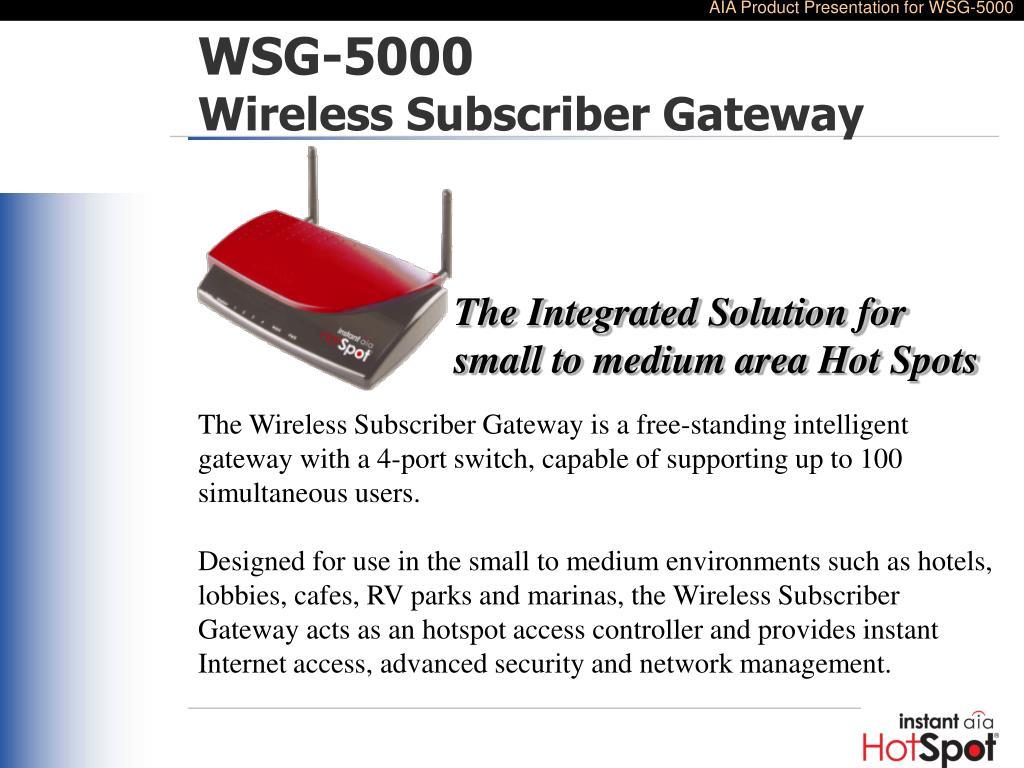 WSG-5000