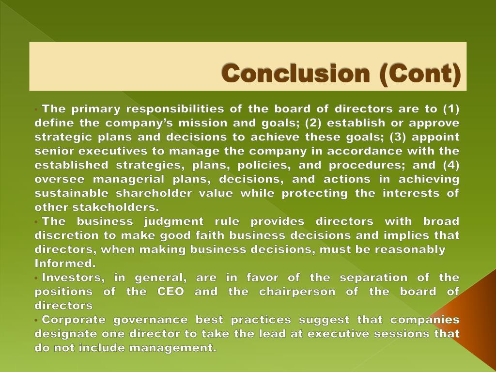 Conclusion (Cont)