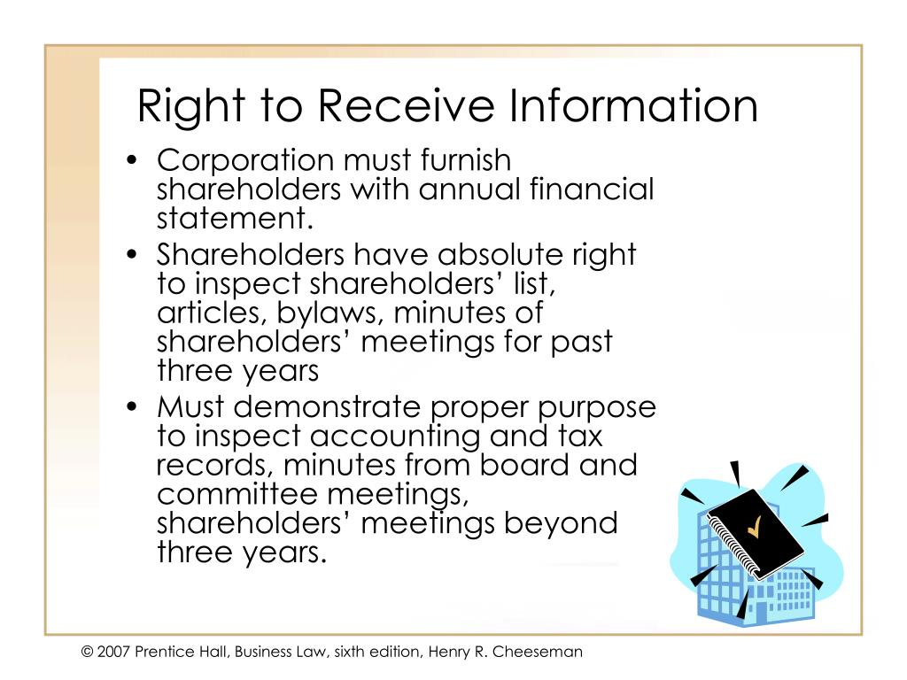 Right to Receive Information