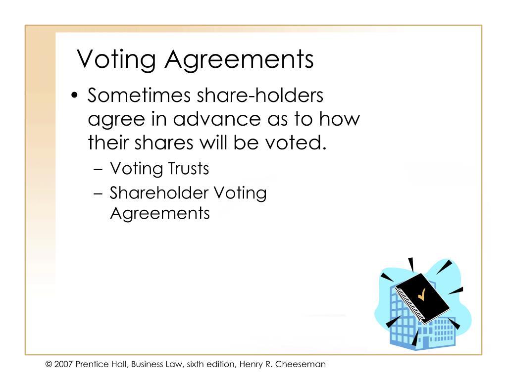 Voting Agreements