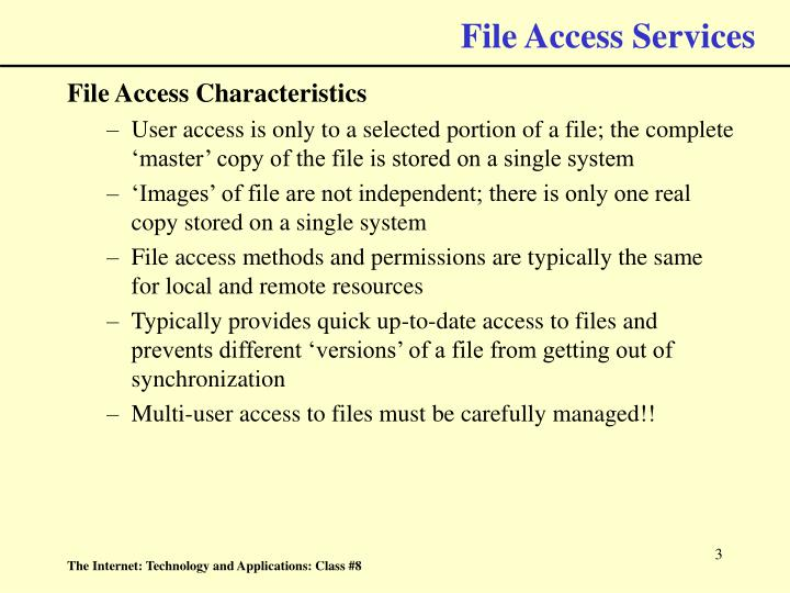 File access services3