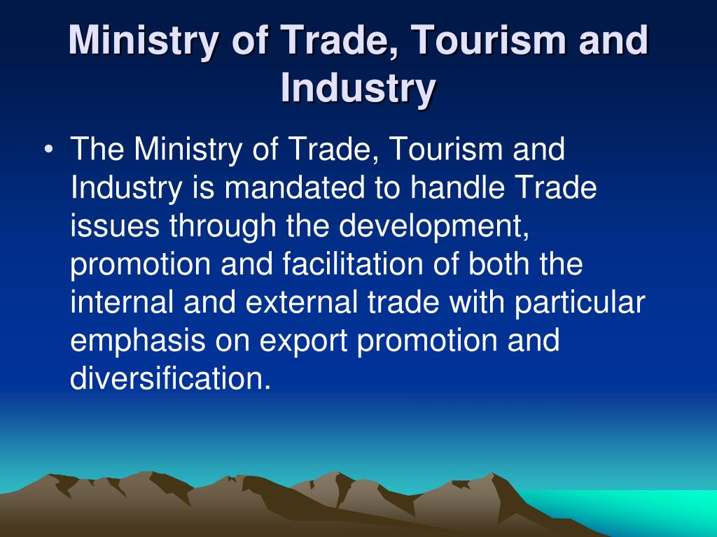 Ministry of Trade, Tourism and Industry