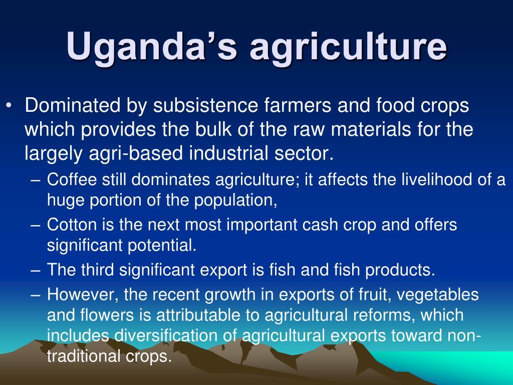 Uganda's agriculture