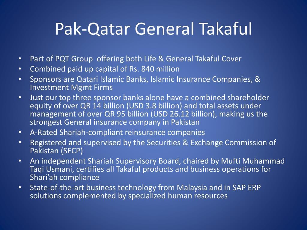 Pak-Qatar General Takaful