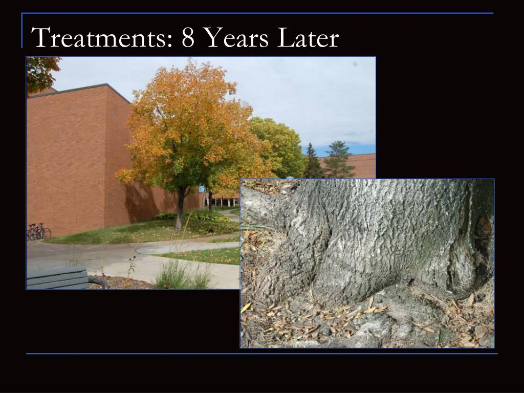 Treatments: 8 Years Later