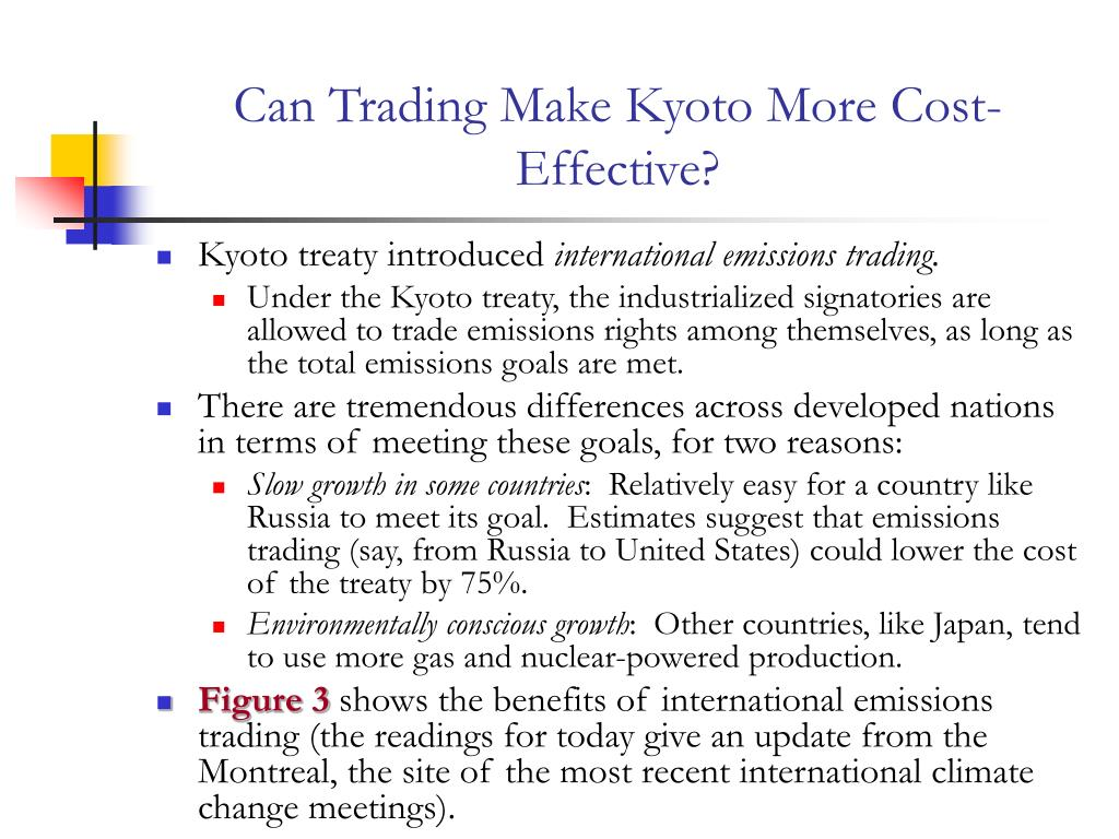 Can Trading Make Kyoto More Cost-Effective?