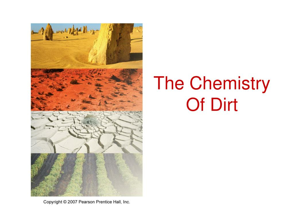 The Chemistry Of Dirt