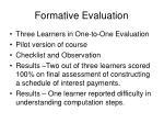 formative evaluation8