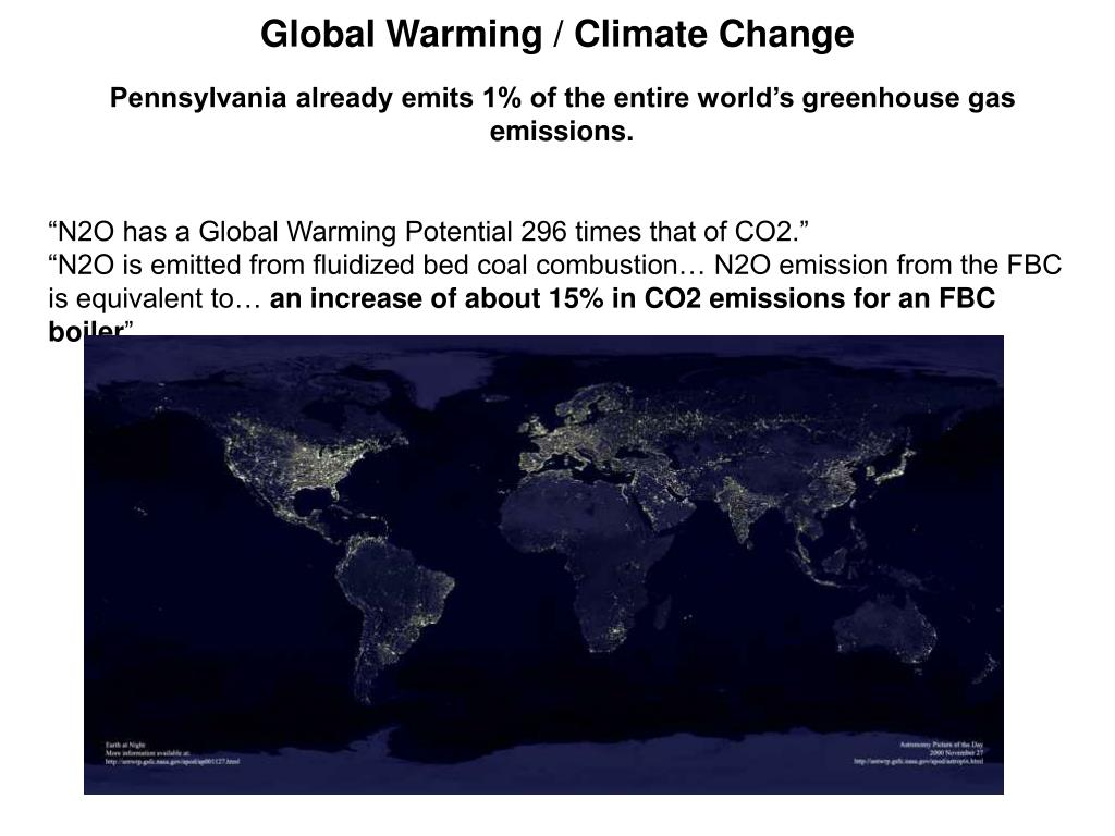 Global Warming / Climate Change